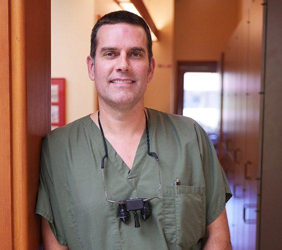 Cosmetic dentist Bainbridge Island Andrew Fiscus